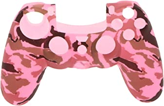 KESOTO Pro Rubber Case Skin Cover Protector Colorful For Sony PS4 Controller Pink