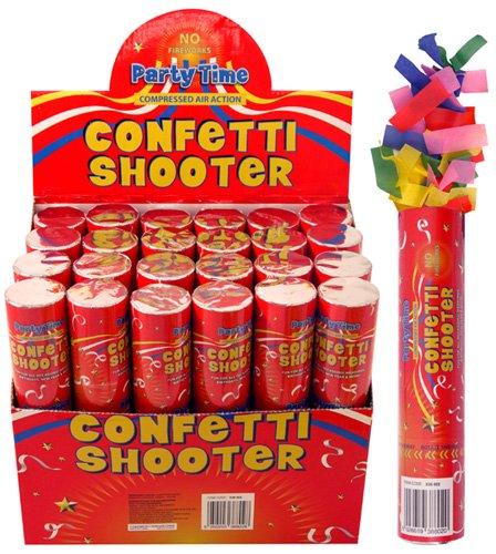 PARTY TIME Lanceur de confettis (20 cm) fête Celebration