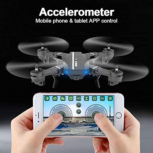 TOPQSC KaiDeng K130 Foldable Mini Drone with WiFi Remote Control One Key Return Atuo Hover Obstacle Avoidance RC Drone Helicopter