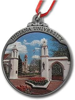 Indiana University Sample Gates Ornament with Gallery Print IUOR3D01 IMC-Retail