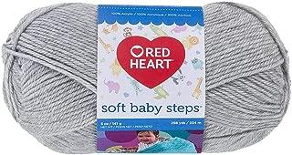 Red Heart Soft Baby Steps Yarn, Elephant