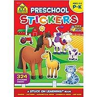 School Zone Sticker Workbook