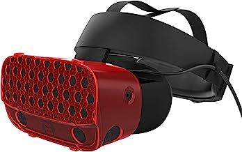 AMVR, custodia protettiva per cuffie VR per Oculus Rift S, leggera e resistente, per evitare collisioni e graffi (rosso)