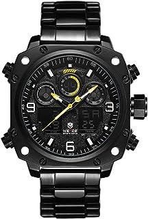 WEIDE WH7303 Quartz Digital Electronic Watch Dual Time Alarm Calendar Stopwatch 3ATM Waterproof Timer Business Men Fashion...