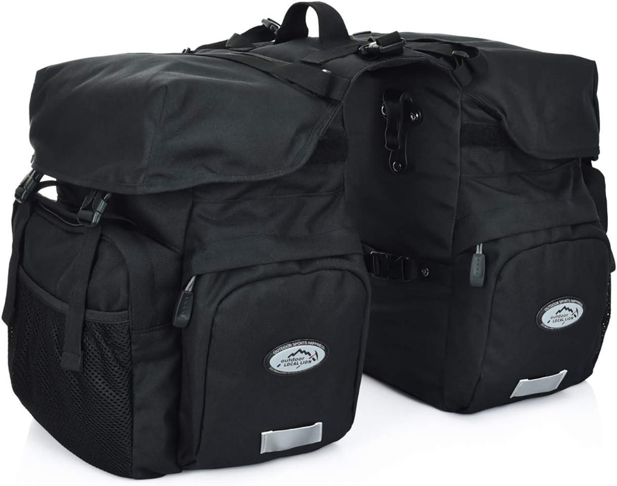 FANWU 50L Bike Panniers Bicycle Waterproof Bag Sales results No. 1 Denver Mall Commuting Saddle