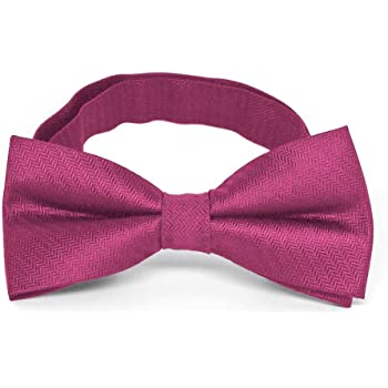 TieMart Dark Orchid Self-Tie Bow Tie