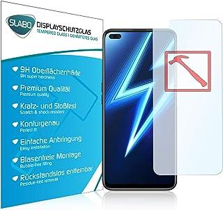 Slabo Premium härdat glas skärmskydd för Realme 6 Pro äkta härdat glas klar 9H