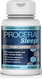Procera Sleep - 2-in-1 Non-Addictive Natural Sleep Aid & Stress Relief Formula | Promotes Calm & Relaxation | Magnesium, 5...