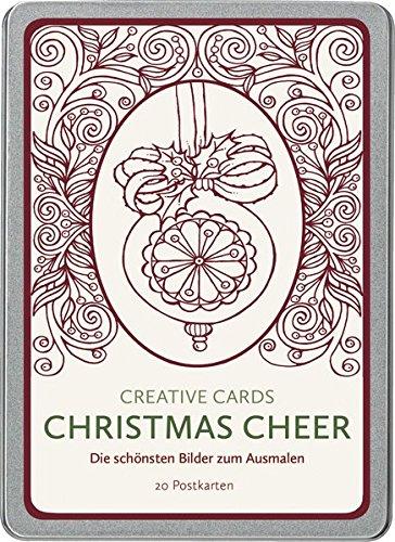 Christmas Cheer (Creative Cards): Die schönsten Bilder zum Ausmalen