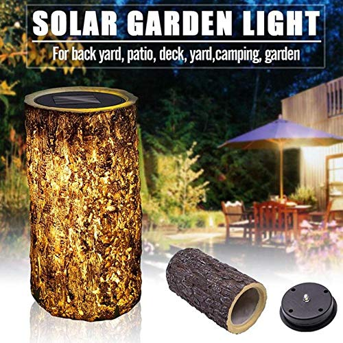 Solar Light LED stomp licht tuin Solar Lamp Outdoor Waterdicht erf gazon Decoratieve lamp