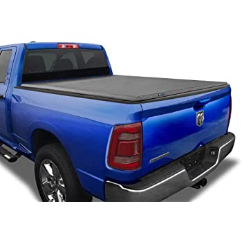 "Tyger Auto T3 Soft Tri-Fold Truck Bed Tonneau Cover for 2019-2020 Ram 1500 New Body Style | 5'7"" Bed 