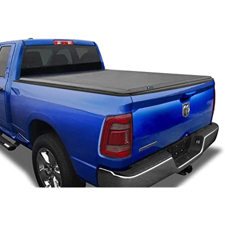 """Tyger Auto T3 Soft Tri-Fold Truck Bed Tonneau Cover for 2019-2021 Ram 1500 New Body Style   5'7"""" Bed (67"""")   Not for Classic   Does Not Fit with Multi-Function (Split) Tailgate or RamBox   TG-BC3D1044"""