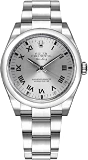 Women's Rolex Oyster Perpetual Air-King Silver Dial Watch Ref. 114200
