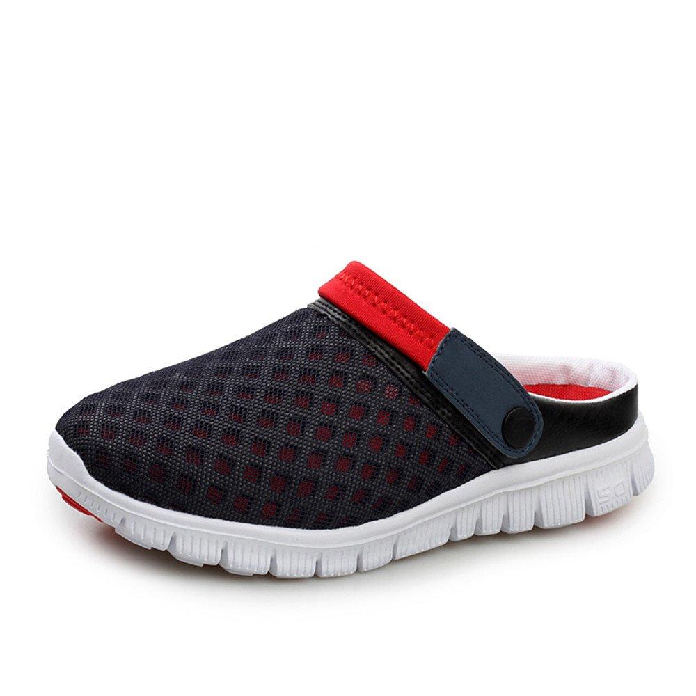 HILOTU Sandalias de Malla para Mujeres y Hombres Zapatos de Zueco de jardín Zapatillas de Verano al Aire Libre Transpirables Zapatillas Deportivas Ligeras para Caminar en la Playa: Amazon.es: Hogar