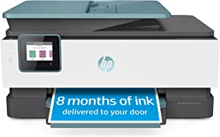 HP OfficeJet Pro 8035 All-in-One Wireless Printer - Includes 8 Months of Ink, HP Instant Ink, Works with Alexa - Oasis (3U...