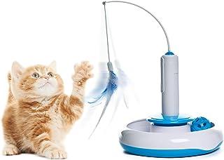 PAWZ Road 猫玩具 猫じゃらし 猫用電動おもちゃ 自動 電動 じゃらし 釣り竿 多機能 電動可能