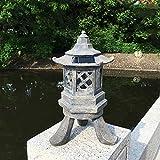 zenggp Japanische Gartenlampen Dekoration Beleuchtung Skulptur - Teelicht Kerzenhalter Dekoration Zuhause Beruhigend