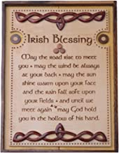 Irish Wooden Wall Plaque with Irish Home Blessing