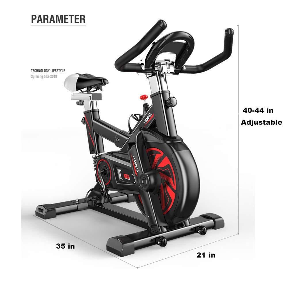 NYANGLI Bicicleta De Ejercicios Magnética,Bicicleta Estacionaria ...