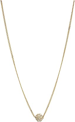 Crystal Pave Short Necklace
