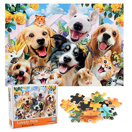 Sunshine smile 1000 Piezas Rompecabezas,Rompecabezas De Círculo,Rompecabezas Redondos,Cardboard Puzzle,Puzzle Adultos,Puzzle Creativo,Rompecabezas para Niños (3)
