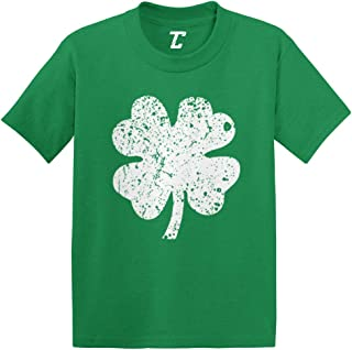 Distressed Four Leaf Clover - Luck Irish Infant/Toddler Cotton Jersey T-Shirt
