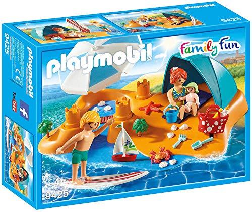 PLAYMOBIL Family Fun Familia en la Playa, A partir de 4 años (9425)