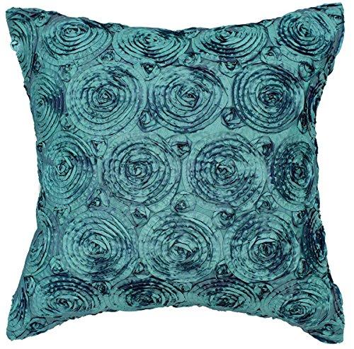 Uno par manta para cama de matrimonio, diseño de rosas, funda de almohada decorativa sofá sofá de funda de cojín con cremallera 16x 16Inchs (40x 40cm)