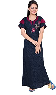 6d0cdc5eee9f5 Amazon.in: Cotton - Nighties & Nightdresses / Sleep & Lounge Wear ...