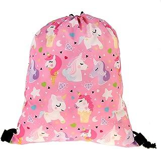 Unicorn Gifts for Girls Kit Backpack/Makeup Bag/Bracelet/Necklace/Hair Ties
