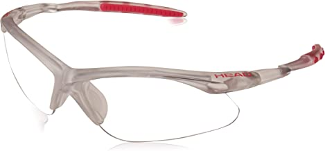 HEAD Icon Pro-Paola Racquetball Eyewear 988026, Clear/Black