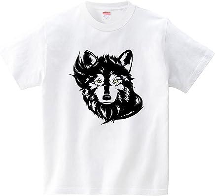 [itaxes] 狼(Tシャツ・ホワイト) (Coyote Labo)