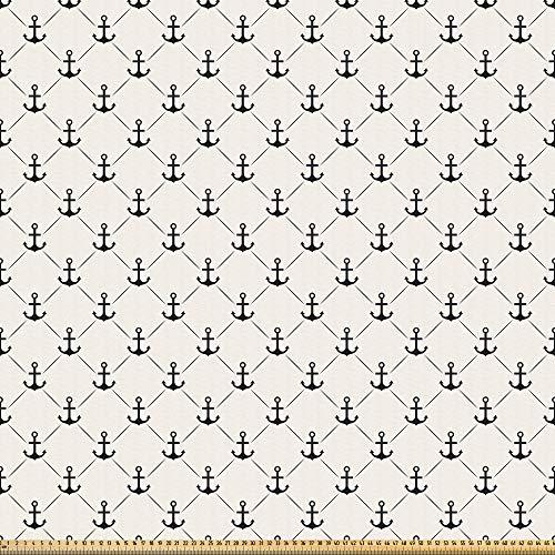 ABAKUHAUS Fiesta Microfaser Stoff als Meterware, Lateinische Motive Pfeffer, DIY Bastler Stoff für Dekorationszwecke, 10M (230x1000cm), Mehrfarbig