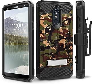 LG Stylo 4 Case, Evocel [Explorer Series Pro] Premium Full Body Case with Glass Screen Protector, Belt Clip Holster, Metal Kickstand for LG G Stylo 4 (2018), Camouflage (EVO-LGSTYLO4-CC1942)
