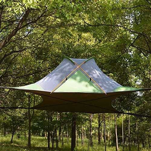 Tenda sospesa / amaca con copertura antipioggia
