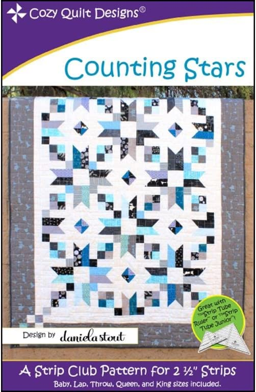 Cozy Quilt Designs Counting Ranking TOP4 Ptrn Stars 35% OFF