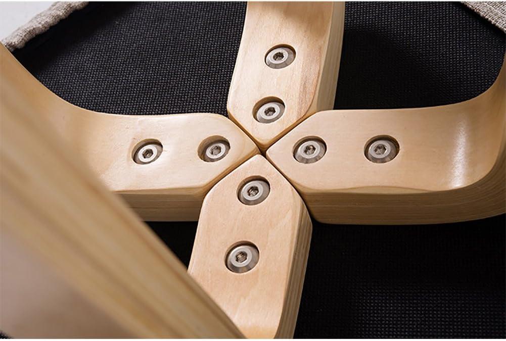 MGMDIAN Nordic Solide Bois à Manger Chaise, Tabouret de Bar arrière Chaise Salon Bureau Pied Tabouret 33X33X69.5cm (Color : 8) 3