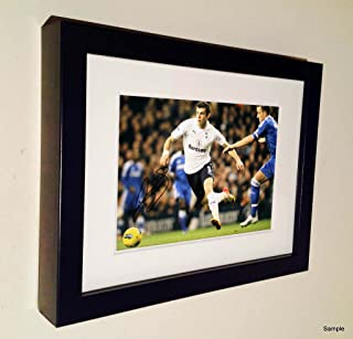 Kitbags & Lockers Signed Gareth Bale Autographed Tottenham Hotspur Spurs Photo Picture Frame Photograph