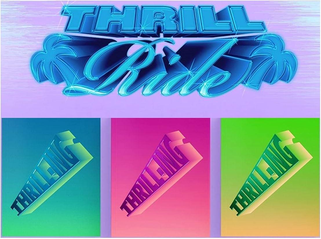 SET THE BOYZ 6th Mini OFFicial shop - THRILL-ING 3Album Album In stock