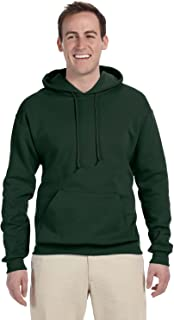 Jerzees Mens Forest Green Adult Pullover Hooded Sweatshirt