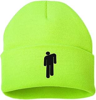 Billie Eilish Hot Topic Logo Beanie Knit Hat Stretchy Cap for Men Women Green