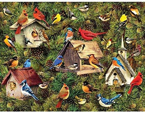 1000 piezas para adultos rompecabezas educativo de Birdies Day Jigsaw Juguetes para niños Wondeful Regalos de Pascua para todas las edades de la familia