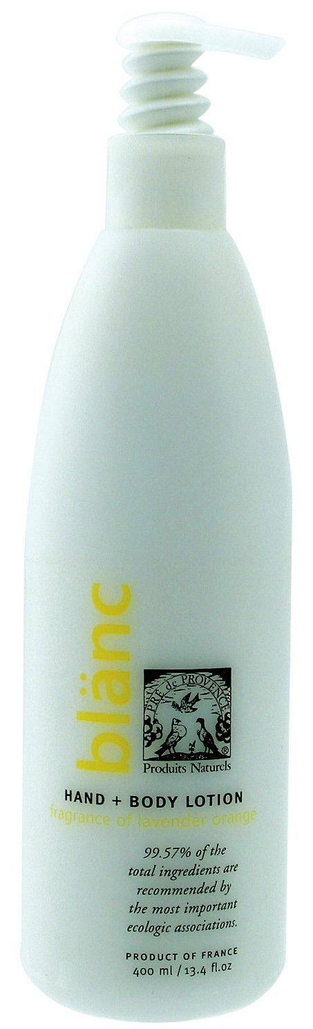 Max 90% OFF Pre de Provence Blanc Inventory cleanup selling sale Hand Orange Lavender Body 13.4 Lotion