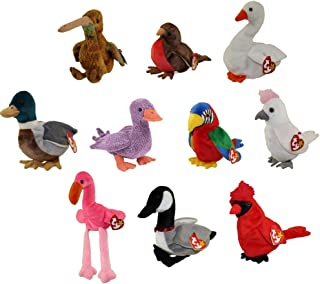 f4bdc4f3b35 TY Beanie Babies - BIRDS  1 (Set of 10)(Beak