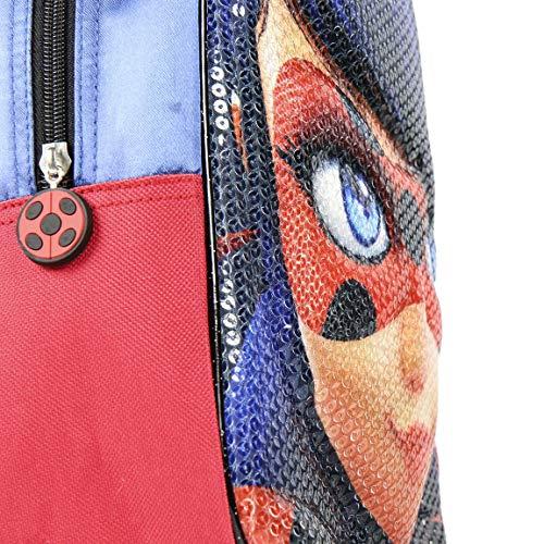 61woywYWTbL - Mochila Infantil 3D Lady Bug