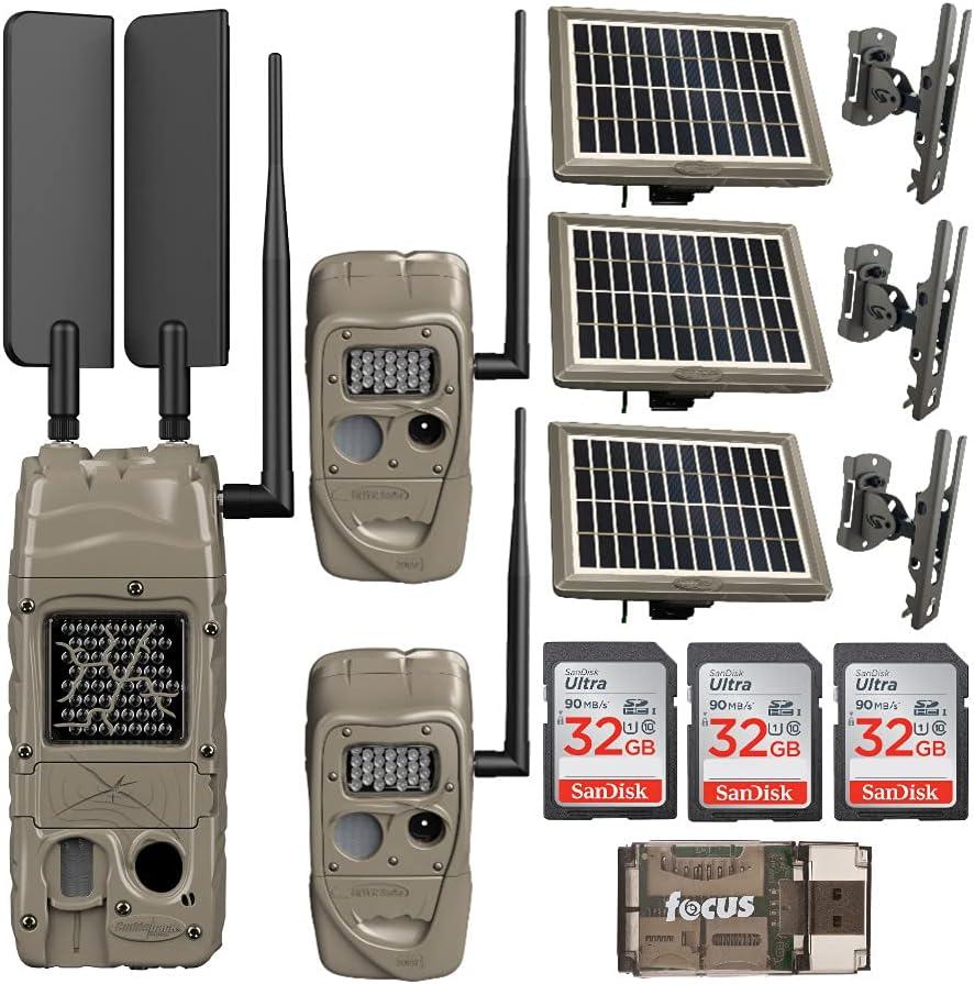 Cuddeback CuddeLink Cell Trail Fort Worth Mall Camera Powered B Verizon Sale item Solar