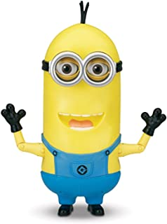 Unbranded New Minions Movie Banana Eating Kevin Interactive Talking Doll Action Figure Toy