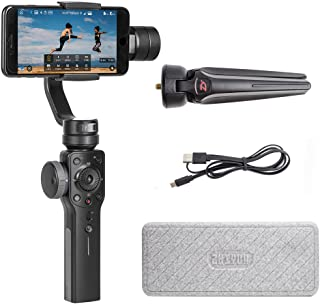 Zhiyun Smooth 4 3 Axis Handheld Gimbal Stabilizer, Focus Pull & Zoom Capability, Timelapse Expert, Object Tracking, Two-Wa...