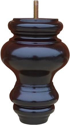 BingLTD Sofa Feet - 6 Mahogany Hardwood Sofa Legs - Set of 4 (P844-157-FBA)