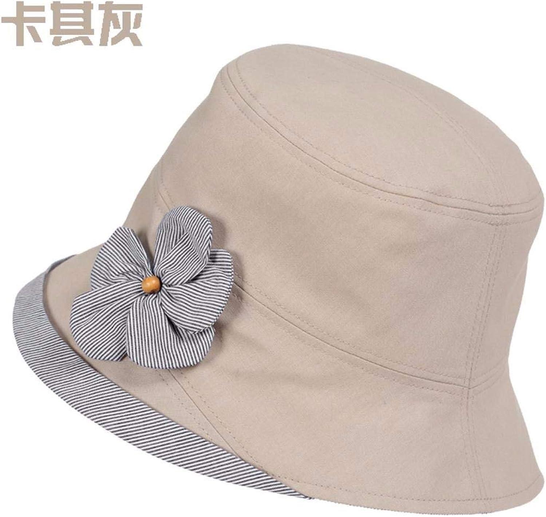 Chuiqingnet Hat female beret pin knitting hat elderly mother cap Baotou cap ear cap cycling Cap